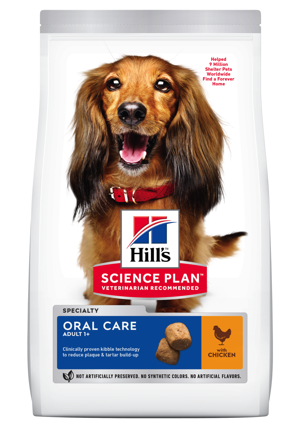 Hill's canine Adult oral care kylling 12 kg