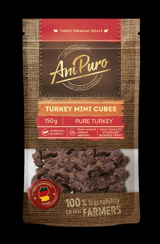 Ani puro Turkey mini cubes 150gr