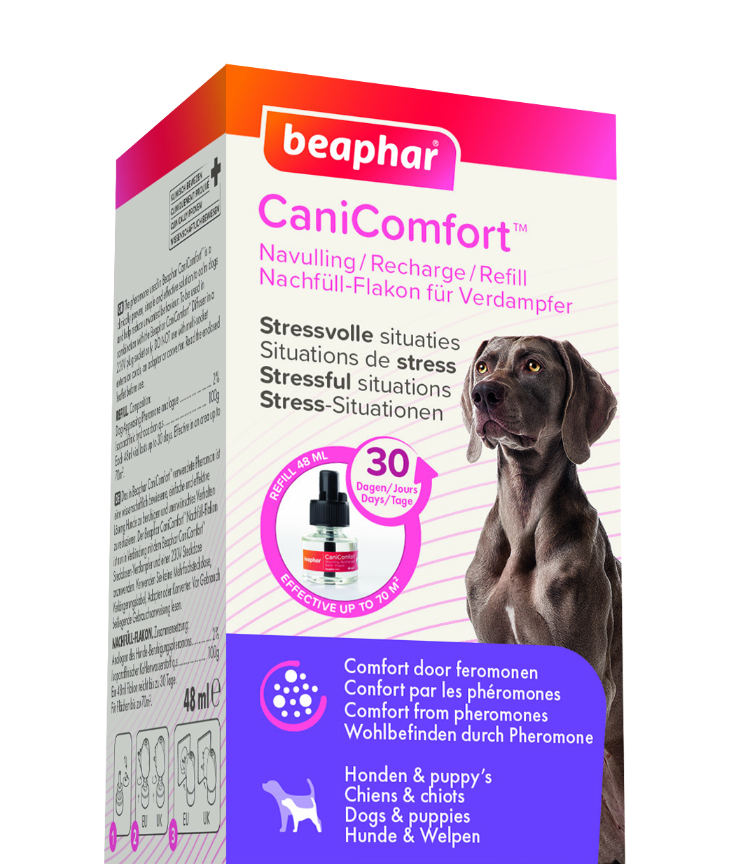 Canicomfort diffuser refill hund 48ml