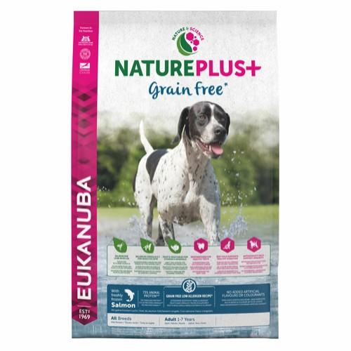 Eukanuba Nature plus grain free laks 10 kg