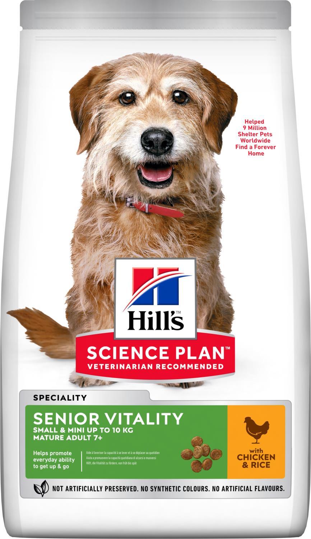 Hill's Canine Senior vitality Small & mini 6 kg