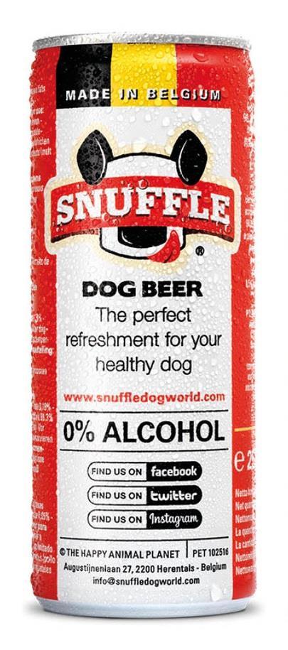 Hundeøl m/biff smak på boks