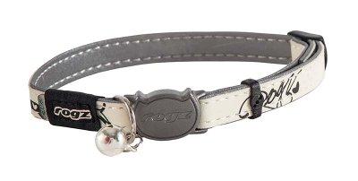 Rogz Glowcat Halsbånd S svart 1mm 20-31cm