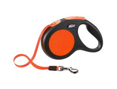 Flexi Classic Neon Tape M 5m Oransje