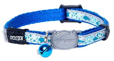 Rogz Nightcat halsbånd Blå S 20-31cm
