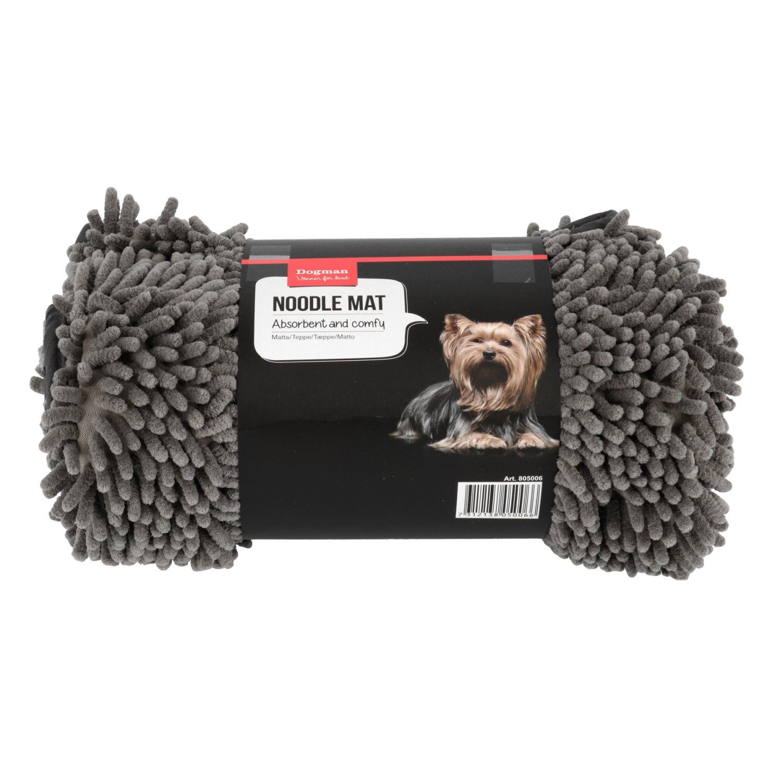 Chenille teppe Noodle matte L 90x70cm