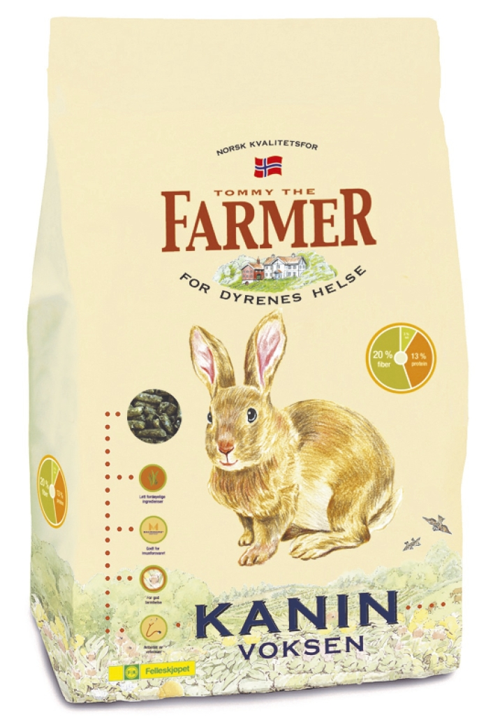 Farmer Kanin voksen 2,5 kg