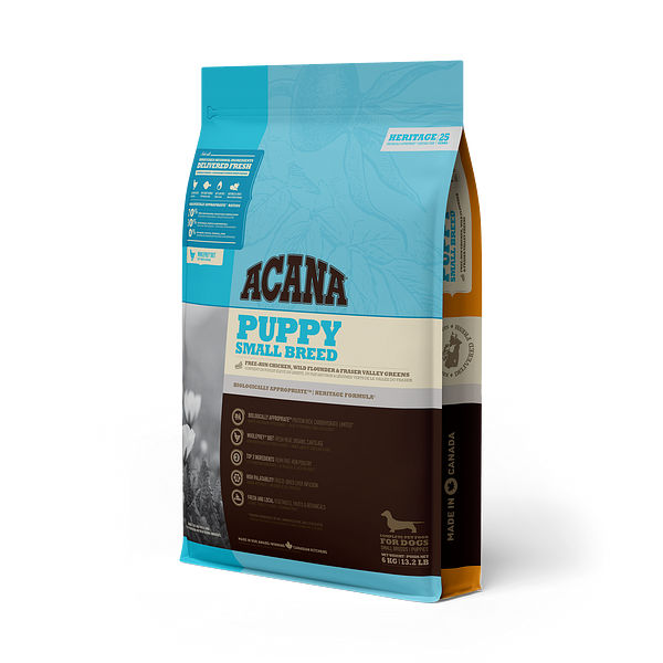 Acana Hertiage Puppy small breed 6kg