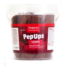 Pep ups strips med biff 500g