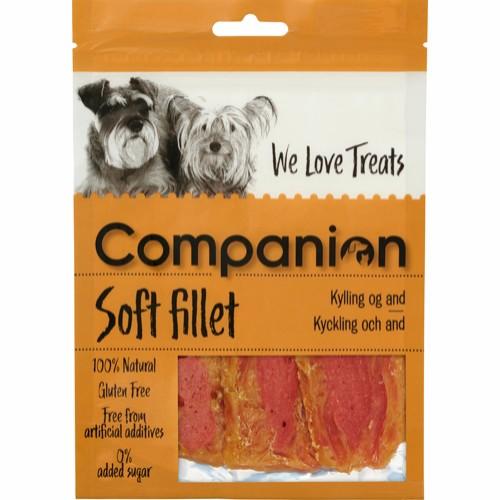 Companion Soft fillet Kylling og and 80gr