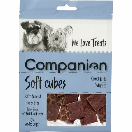 Companion Soft cubes oksehjerte 80gr