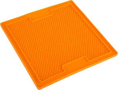 Lickimat soother orange 20x20cm