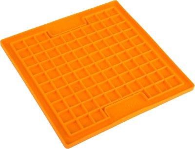 Lickimat Playdate orange 20x20cm