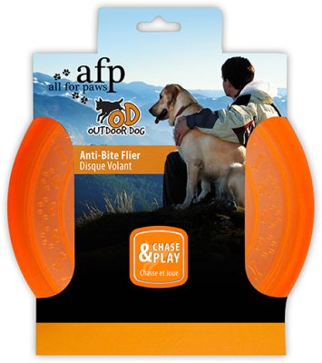 Hunde frisbee orange anti biter ø22,5cm