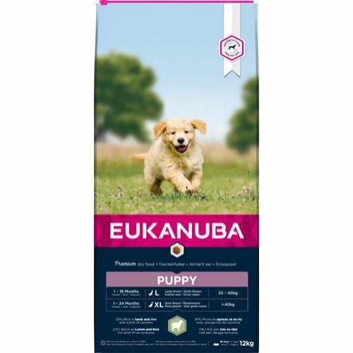 Eukanuba Puppy lam & ris Large 12 kg