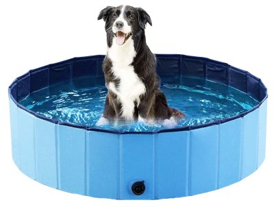Hundebasseng 120x30cm Ozami blå