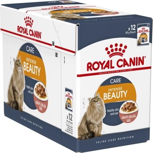Royal Canin Intense Beauty våtfôr eske 12x85g