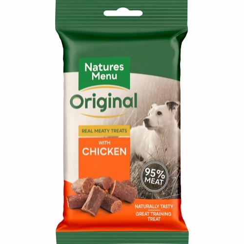 Natures menu NM godbit 95%kjøtt kylling