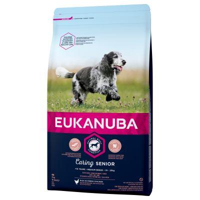 Eukanuba Caring senior Medium breed 3kg