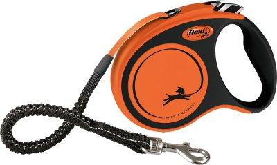 Flexi Kobbel Xtreme M 5m orange m/strikk