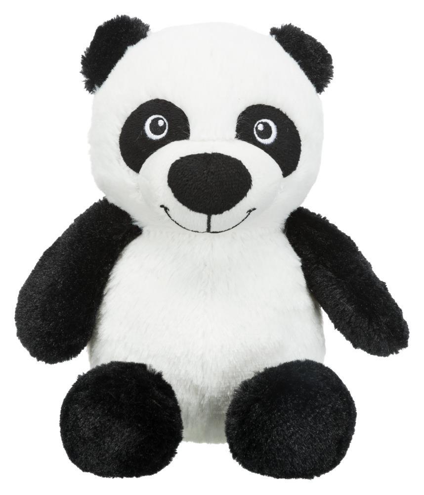 Hundeleke Panda i plysj m/lyd 26cm