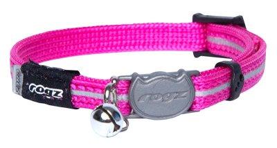 Rogz Alleycat Halsbånd XS rosa 8mm 16,5cm-23cm