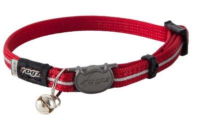 Rogz Alleycat Halsbånd XS rød 8mm 16,5cm-23cm