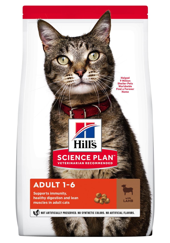 Hill's Feline Adult Lam 3kg