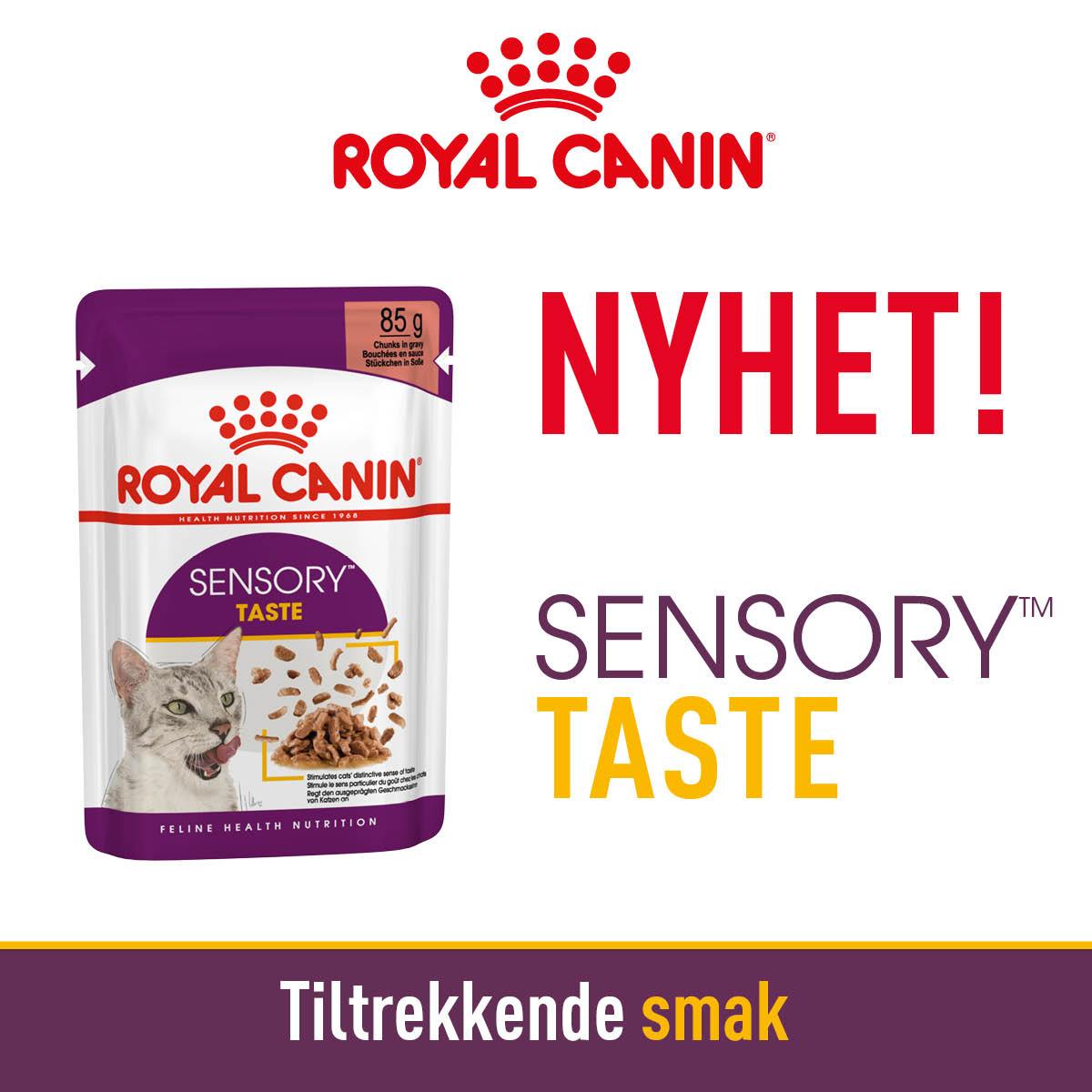 Royal canin Våtfor Sensory Taste 1285gr