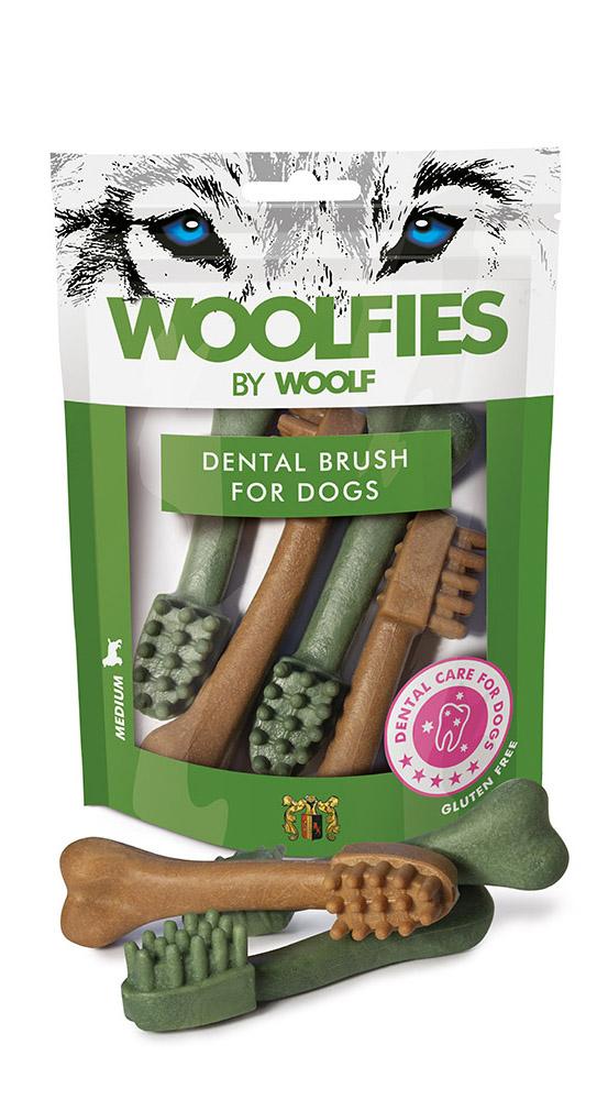 Woolfies Medium Dental Brush 200gr