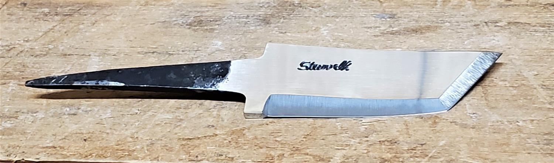 Knivblad Tanto Blank 30 - 70 mm