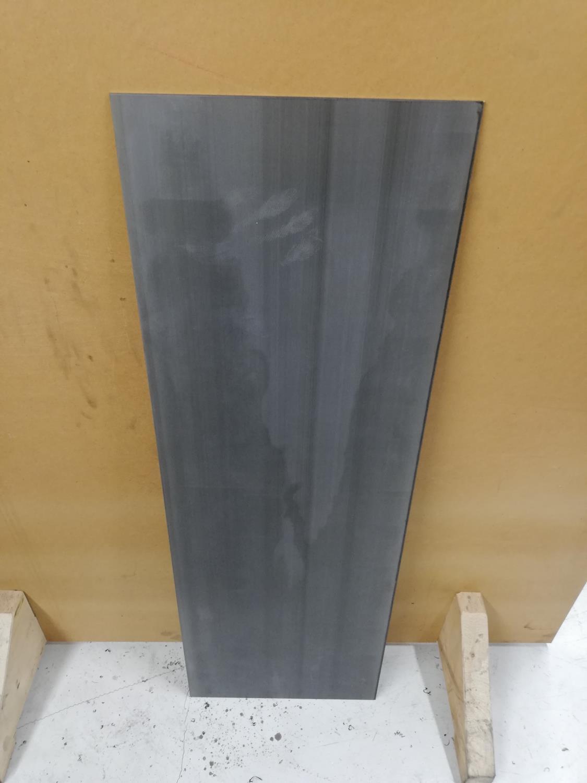 AEB-L stål (rustfritt), hel plate med struktur