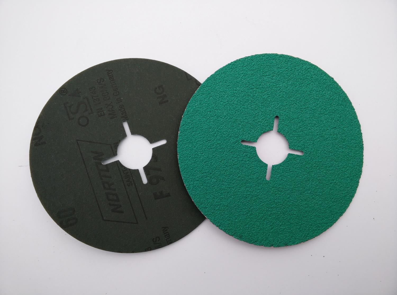 Fiberskive 125 x 22 mm, K 120