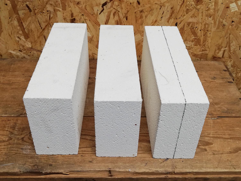 Isolasjon, 3-br. knivsmed, stein til sider og bunn