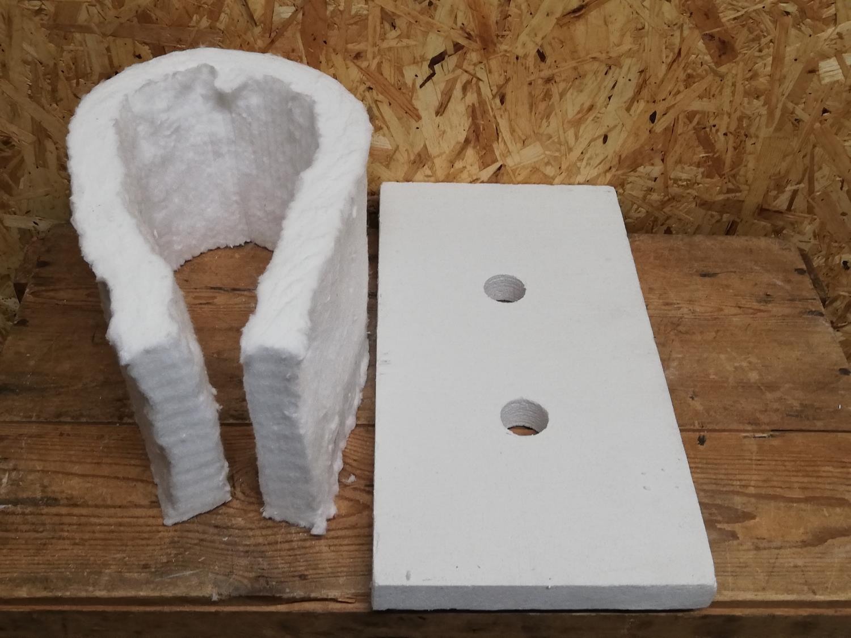 Isolasjon, 2-br. knivsmed, topp +  2 dører