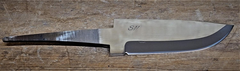 Knivblad, rustfritt, ca. 75-80 mm