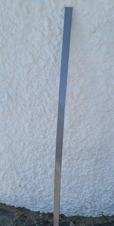 Omleggsjern, flatt, 4 mm tykk for 25 mm innlegg