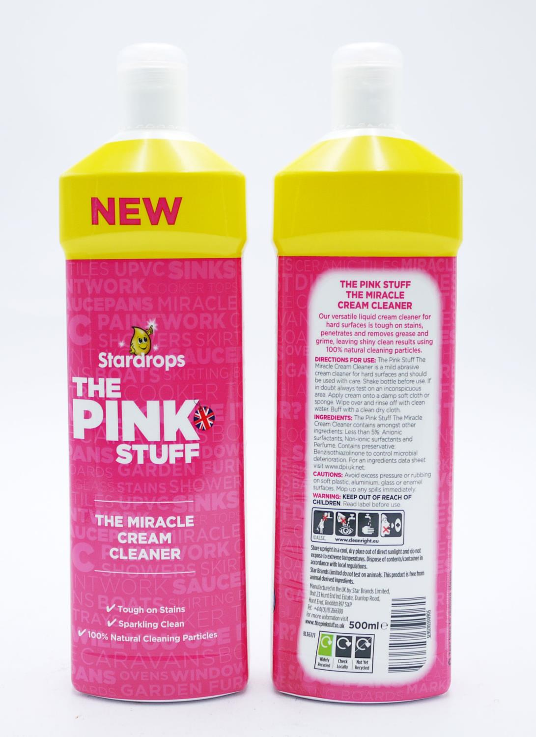 The Pink Stuff Miracle Cream Cleaner 500ml
