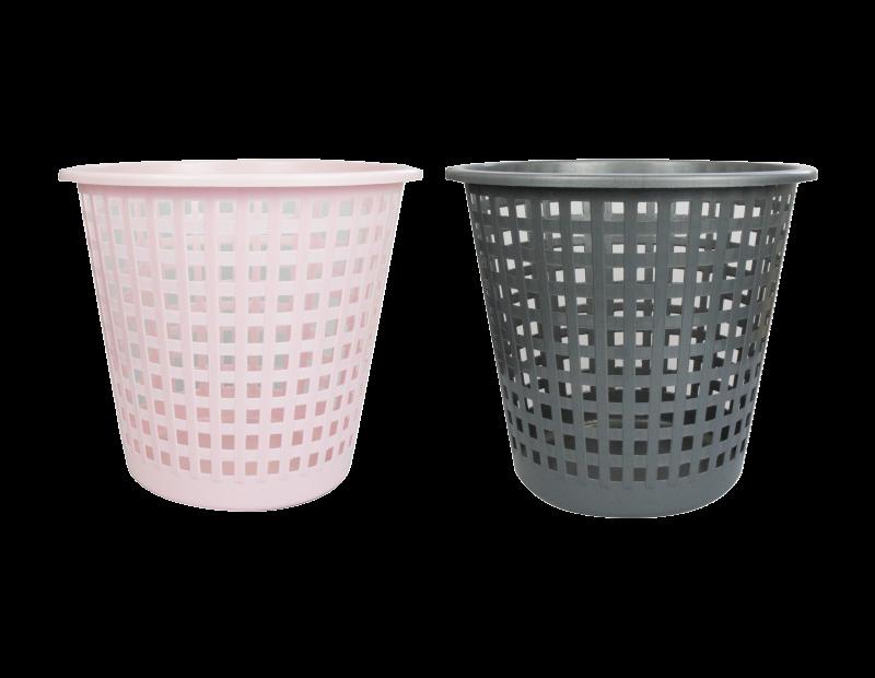 House&Home Waste Bin Grå/Rosa