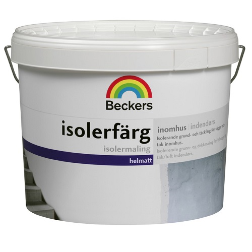 Beckers Isolermaling Hvit 4L
