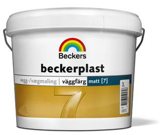 Beckerplast (7) Hvit 10L