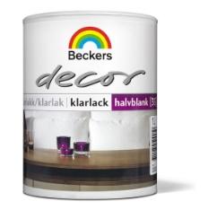 Decor Klarlakk Halvblank (40) 1L