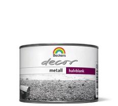 Decor Metall Sølv 0,5L