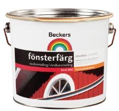 Beckers Fönsterfärg A-base 2,7L