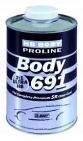 Body 691 klarlakk 1 lit