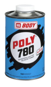 HB Body Poly 780 polyestertynner 1 lit