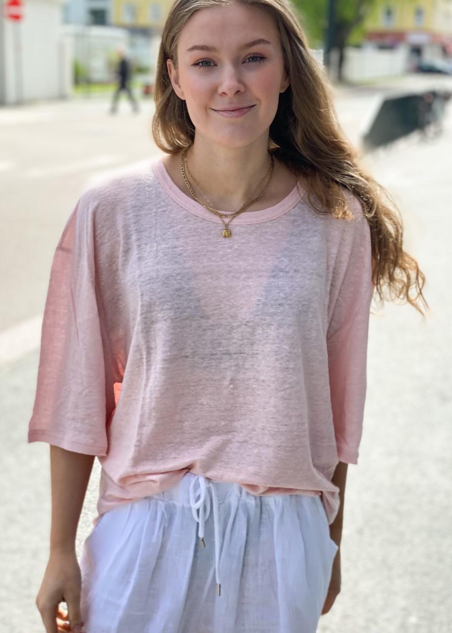 Mia Linen Rosa