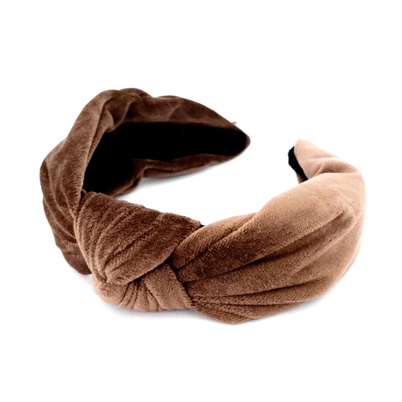 Hårbøyle knute - Brun