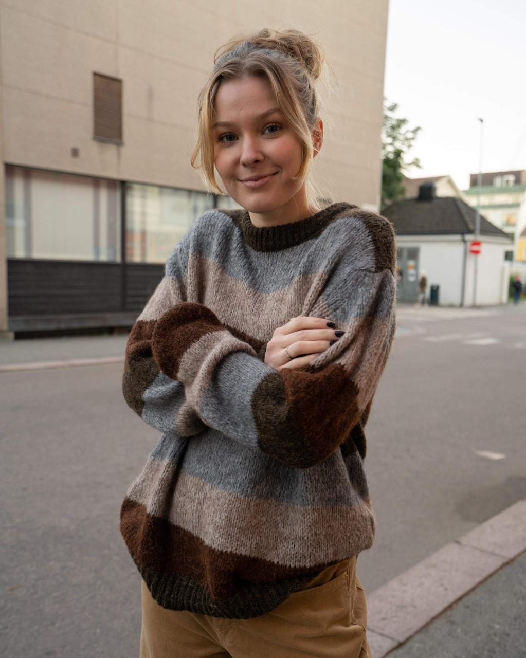 Scalo Stripe Knit Tiffany
