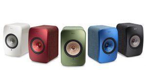 Kef LSX Aktiv høyttaler med Streaming